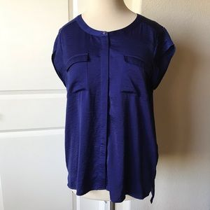 Gorgeous Royal Blue Hi-Low Tunic by Chico's